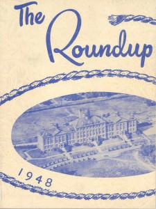 1948 Cover of First Yearbook