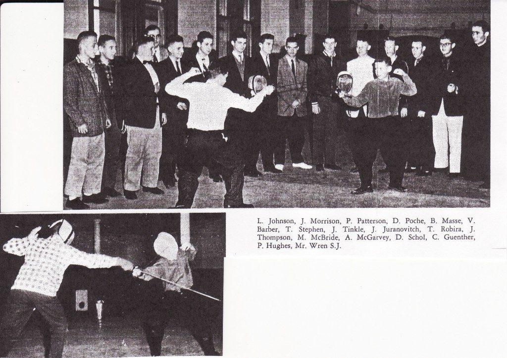 First Fencing Team (1956-1957)