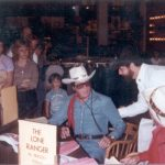 1981-82 Clayton Moore with Jeff Sandoz