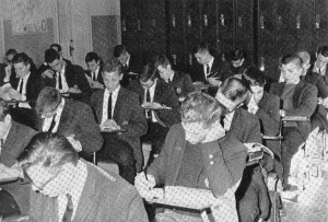 Jesuit High School Oak Lawn Campus Classroom c. late 1950s to early 1960s