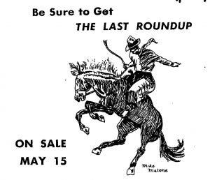 1950 - 1951 The Last Roundup Ad
