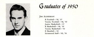 James E. Alderman Senior Picture