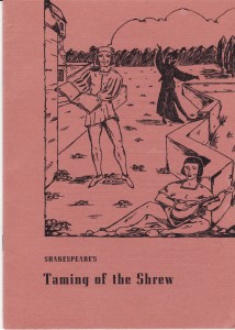 February 1955 Taming of the Shrew