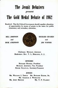 Gold Medal Debate 1962