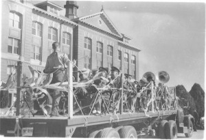 Fall 1957 Football Parade