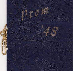 Prom 1948 Dance Program