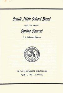 April 11, 1956 Program