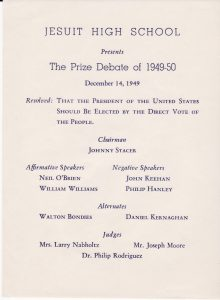 The Prize Debate 1949-1950