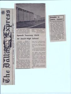 1964-65 Debate Race Controversy